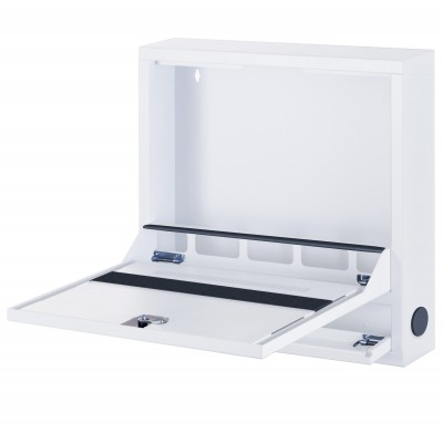 Security Box for Notebooks and Lim's accessories Basic White RAL 9016 - Techly Professional - ICRLIM04W2-3