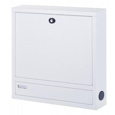 Security Box for Notebooks and Lim's accessories Basic White RAL 9016 - Techly Professional - ICRLIM04W2-5