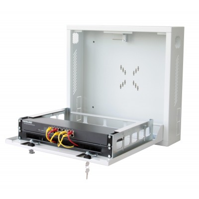 Security box for DVR and video surveillance systems White - Techly Professional - ICRLIM08W-13