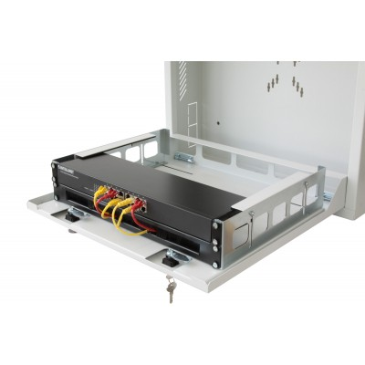 Security box for DVR and video surveillance systems White - Techly Professional - ICRLIM08W-15