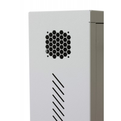 Security box for DVR and video surveillance systems White - Techly Professional - ICRLIM08W-11