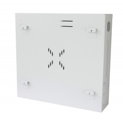 Security box for DVR and video surveillance systems White RAL9016 - Techly Professional - ICRLIM08W2-2