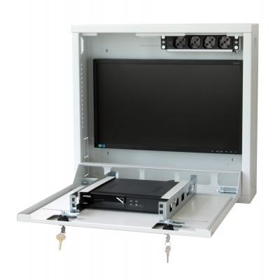 Security box for DVR and video surveillance systems Reconditioned - Techly Professional - ICRLIM08W2R-5
