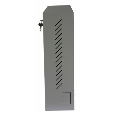 Wall Security Cabinet for Smartphone Gray - Techly Professional - ICRLIM15-6