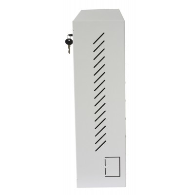Wall Security Cabinet for Smartphone White - Techly Professional - ICRLIM15W-8