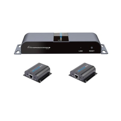 HDMI 1x2 Extender Splitter over CAT6/6a/7 50m with IR pass-back - Techly - IDATA EX-HL21TY-2
