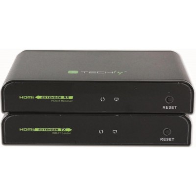 Additional receiver for HDMI Extender with IR of Cable Network - Techly - IDATA EXTIP-383IRRX4-5