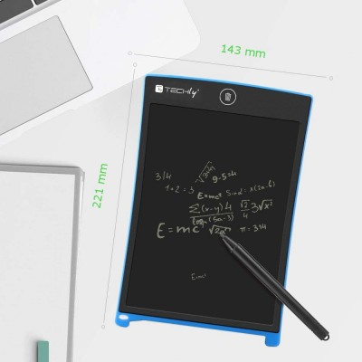 """8.5"""" LCD Graphic Tablet for Multicolor Writing and Drawing - Techly - IDATA GT-88-5"""