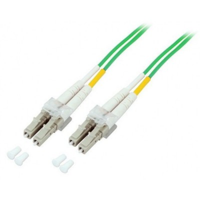 Fiber Optic Cable LC / LC 50/125 Multimode 0.5 m OM5 - Techly Professional - ILWL D5-LCLC-005/O5T-1