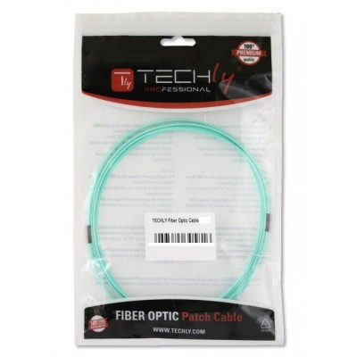 Fiber Optic Cable LC / LC 50/125 Multimode 1 m OM5 - Techly Professional - ILWL D5-LCLC-010/O5T-1