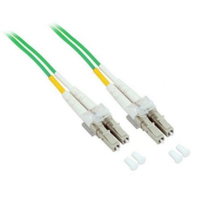Fiber Optic Cable LC / LC 50/125 Multimode 10 m OM5 - Techly Professional - ILWL D5-LCLC-100/O5T-2