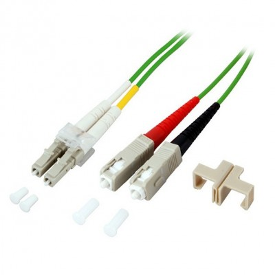 Fiber Optic Cable SC / LC 50/125 Multimode 5 m OM5 - Techly Professional - ILWL D5-SCLC-050/O5T-1