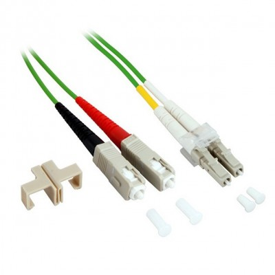 Fiber Optic Cable SC / LC 50/125 Multimode 10 m OM5 - Techly Professional - ILWL D5-SCLC-100/O5T-2