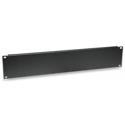 "Blind Panel for Racks 19"" Black 2 Units - Techly Professional - I-CASE BLANK-2-BK-0"