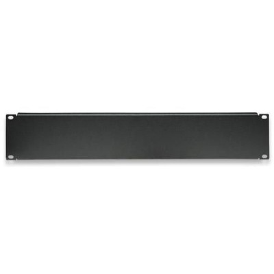 "Blind Panel for Racks 19"" Black 2 Units - Techly Professional - I-CASE BLANK-2-BK-2"
