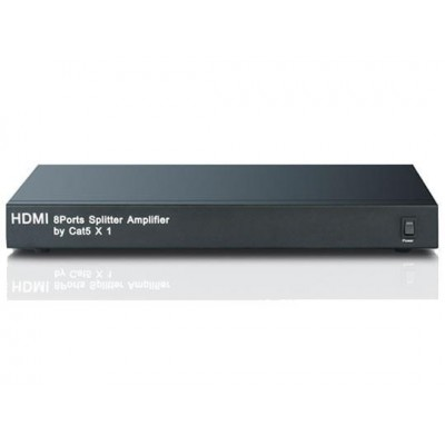 Splitter / Amplifier HDMI 1 in 8 out Cat 5 - Techly - IDATA HDMI-8C5-3