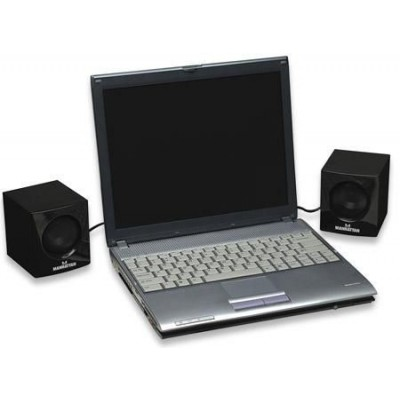 Casse mini USB serie 2700  3W - Techly - ICC SP-2700-0