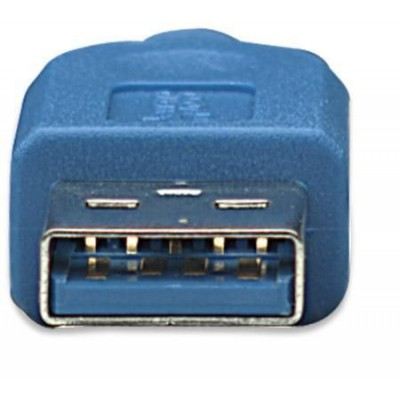 Superspeed+ USB 3.1 Cable A / Micro B 3m - Techly - ICOC MUSB31-A-030-3