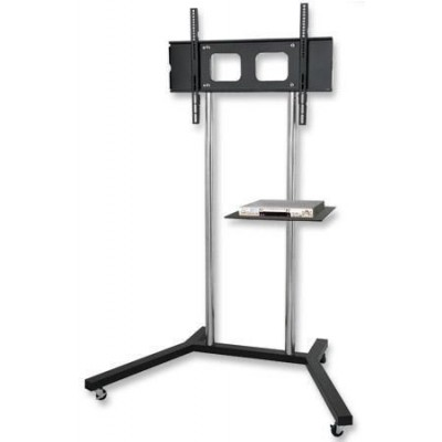 "32""-60"" Floor Stand with Shelf Cart LCD / LED / Plasma TV - Techly - ICA-TR2-1"