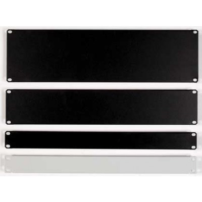 "Blind Panel for Racks 19"" 1 Unit Black - Techly Professional - I-CASE BLANK-BK-1"