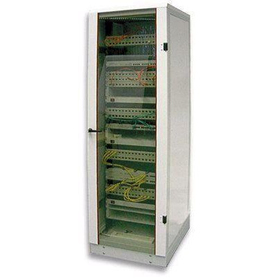 Network rack 19 -  - I-CASE 38-G-BL-1