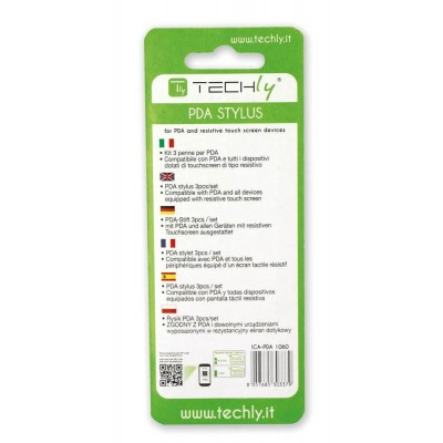 3 Pens Set for PDA and Resistive Screens - Techly - ICA-PDA 1030-1