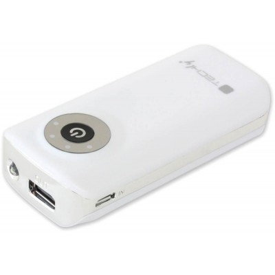 USB Battery Charger Power Bank for Tablet Smartphone 4000 mAh - Techly - I-CHARGE-4000TY-1