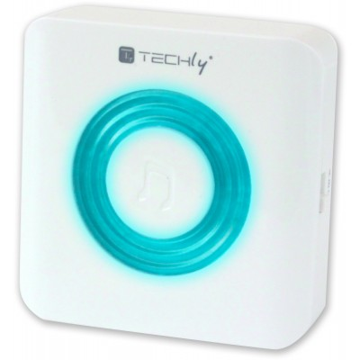 Wireless Doorbell up to 300m with Lithium Battery and Remote Control - Techly - I-BELL-RING02-2
