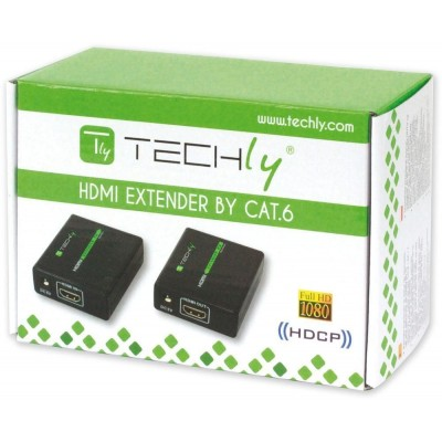 Amplifier HDMI Full HD up to 60m of cable Cat. 6 / 6A / 7 - Techly - IDATA EXT-E70-1