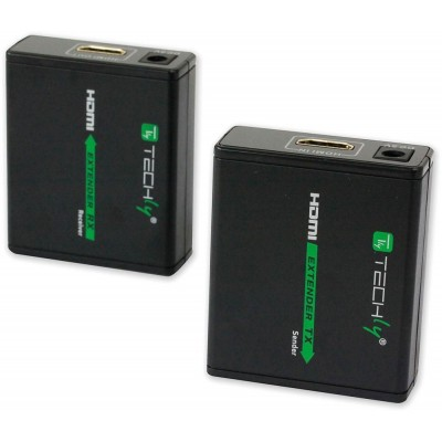 Amplifier HDMI Full HD up to 60m of cable Cat. 6 / 6A / 7 - Techly - IDATA EXT-E70-7