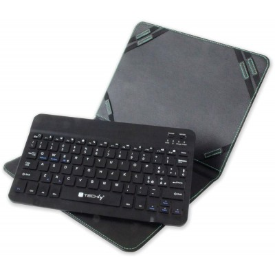 """Case with Removable Bluetooth Keyboard 3.0 for Tablet 9.7""""/10."""" - Techly - ICTB1001-3"""