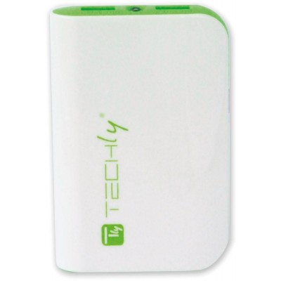 Power Bank 6000mAh USB Battery Charger for Smartphone Tablet - Techly - I-CHARGE-6000TY-3
