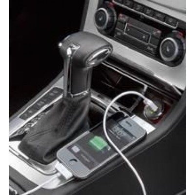 Compact 1p USB 2100mAh Adapter for Car Cigarette Lighter Socket - Techly - IUSB2-CAR-ADP21-2