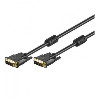 Dual Link DVI Digital (DVI-D) with Ferrite 5 m - Techly - ICOC DVI-8150F-2
