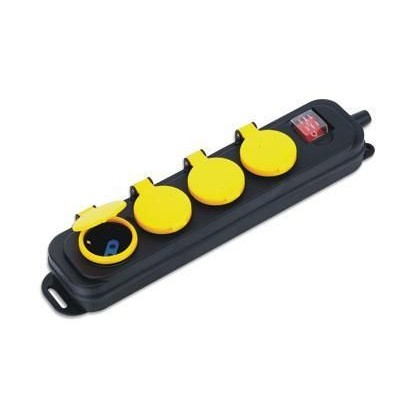 Outdoor Power Strip 4 Plugs - Techly - IUPS-PCP-4WP-2