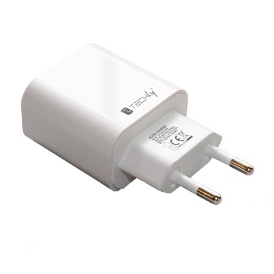 USB-C™ Wall Charger 20W PD for Smartphone or Tablet - Techly - IPW-USB-20W-1