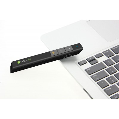 Wireless presenter with integrated laser pointer   - Techly - ITC-LASER26-3