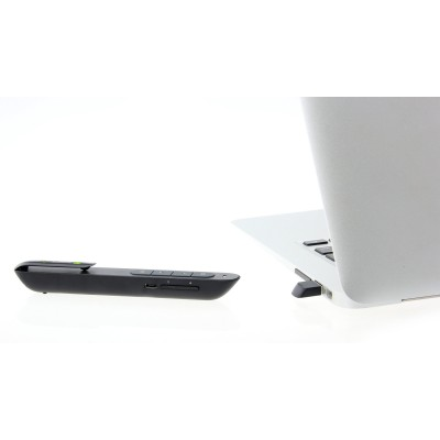 Wireless presenter with integrated laser pointer with lithium battery built-in - Techly - ITC-LASER76-4