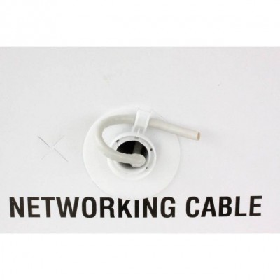 F/UTP Cable Cat.5E CCA 305m Solid Outdoor Black - Techly Professional - ITP8-RIS-0305LO-5