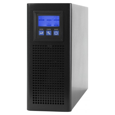 UPS 3000VA On Line Double Tower Conversion - Techly Professional - IUPS-S3KL-1