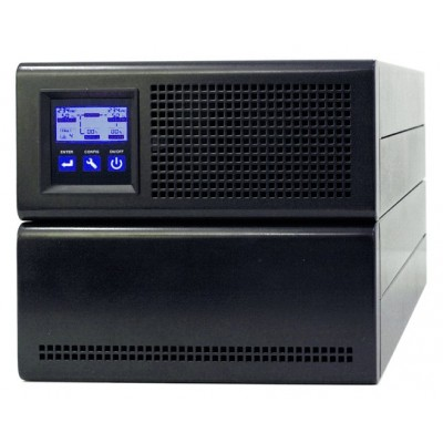 UPS 3000VA On Line Double Tower Conversion - Techly Professional - IUPS-S3KL-0