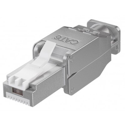 Tool-free RJ45 network connector CAT 6 STP shielded - Techly Professional - IWP-8P8C-TLS6T-0