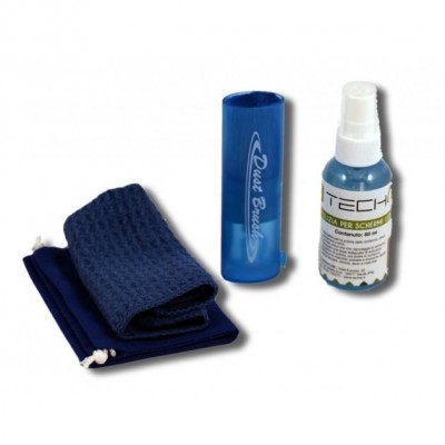 Cleaning Kit for LCD Screens 60 ML - Techly - IAS-LCD60-2