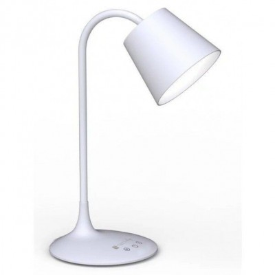 Vintage LED Table Lamp White Class A - Techly - I-LAMP-DSK4-1