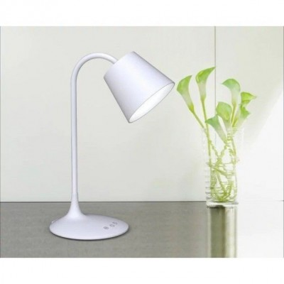 Vintage LED Table Lamp White Class A - Techly - I-LAMP-DSK4-7