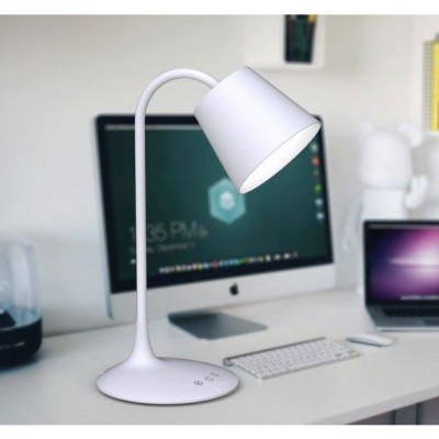 Vintage LED Table Lamp White Class A - Techly - I-LAMP-DSK4-6