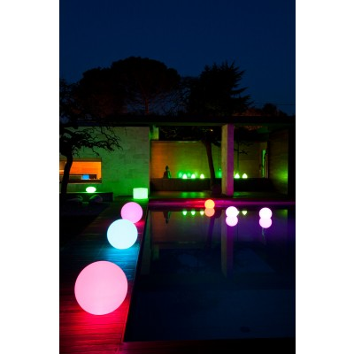 Decorative Multicolor LED Lamp Large Sphere - Techly - I-LED BALL-L-4