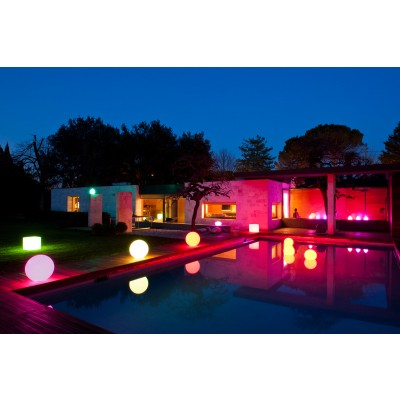 Decorative Multicolor LED Lamp Large Sphere - Techly - I-LED BALL-L-3