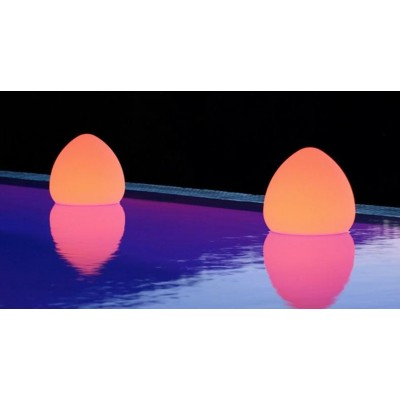 Lampada LED Multicolor da Arredo Rock - Techly - I-LED ROCK-1