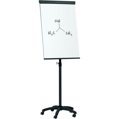 Whiteboard Flipchart with Pivoting Wheels 70 x 100 cm - Techly - ICA-FP 710-1